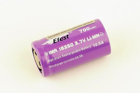 EFEST IMR 18350 700 MAH BUTTON TOP