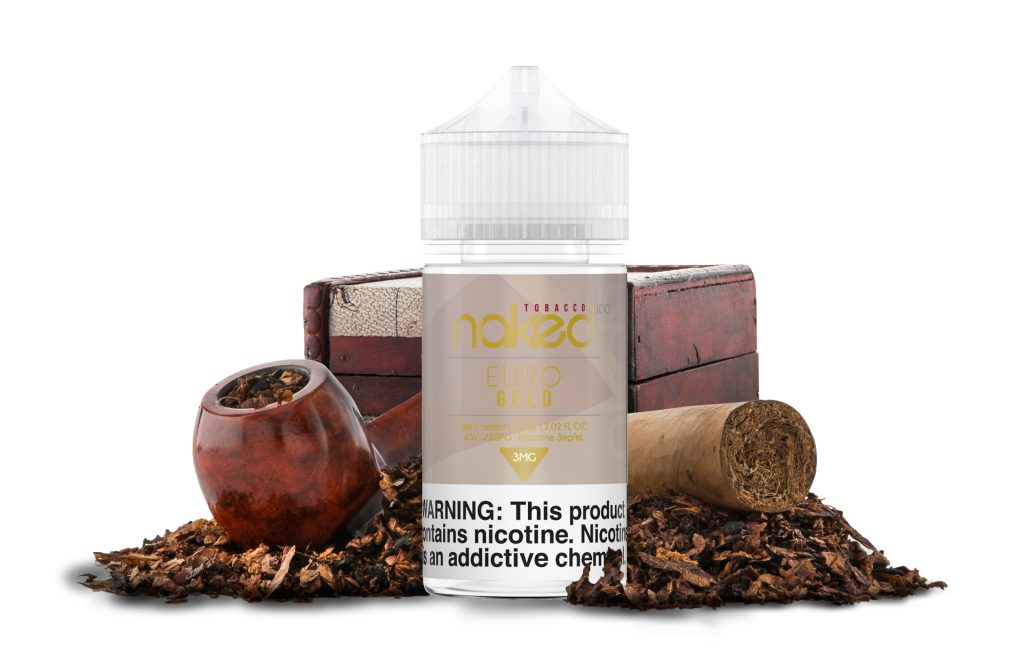 Naked Tobacco - Euro Gold - 60ml