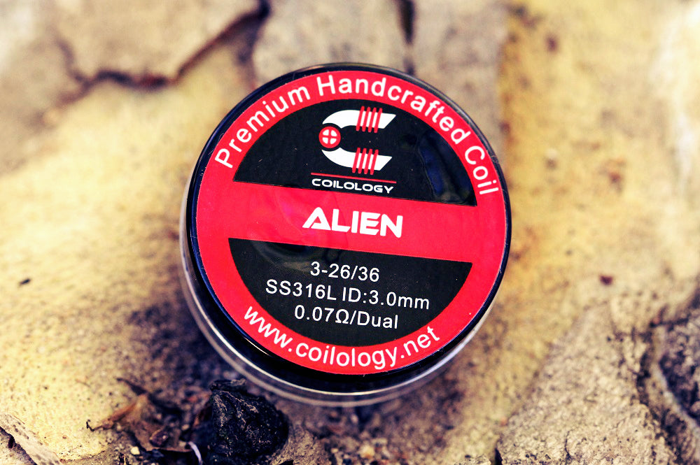 Coilology ALIEN Premium Handcrafted SS316L Coil