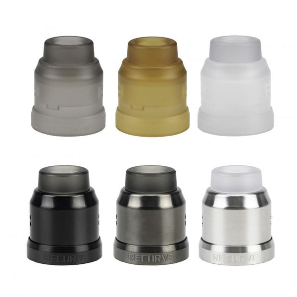 Wotofo 22mm Conversion Cap for Recurve RDA