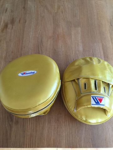 Winning air mitt CM-50 custom gold