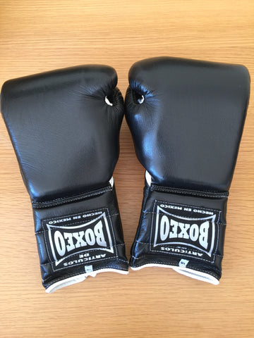 Boxeo Mexico 16oz lace up sparring gloves