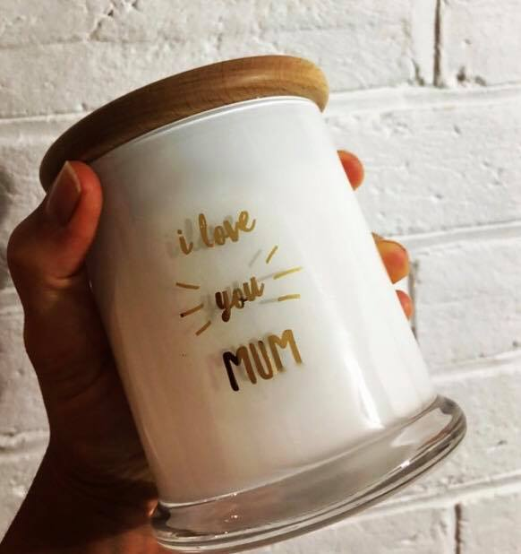 Mother's Day Quote Candles