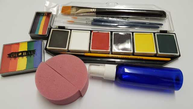 Face Painting Starter Kit for under $100