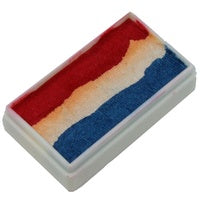 Pearl Red White and Blue 1 Stroke Split Cake 30g