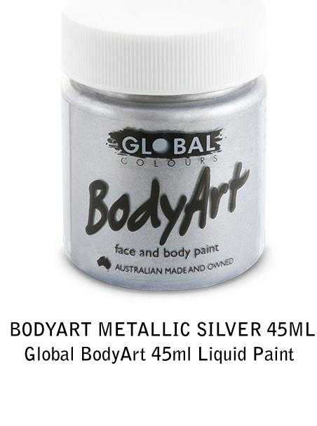 METALLIC SILVER 45ML