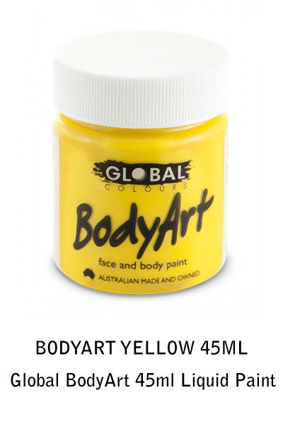 Global BodyArt 45ml Liquid Paint