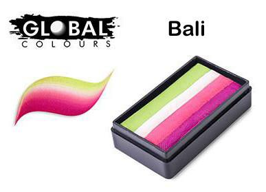 BALI - Lime Green, White, Pink, Magenta