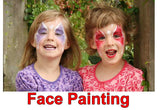 Event Face Painting Enquiries