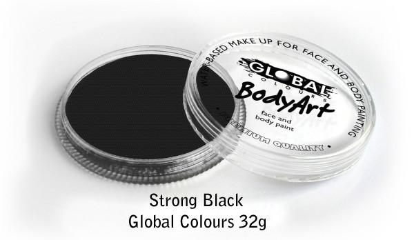 Global Colours Strong Black