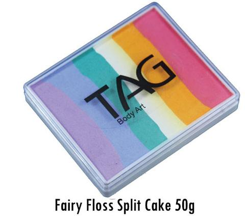 Fairy Floss 50g Split Cake
