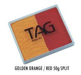 Golden Orange & Red Split Cake 50g