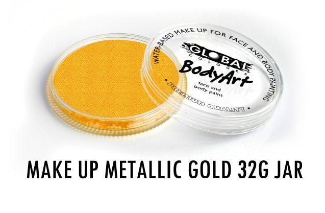 Global Colours Metallic Gold 32g Round