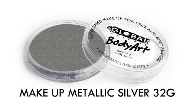 Global Colours Metallic Silver