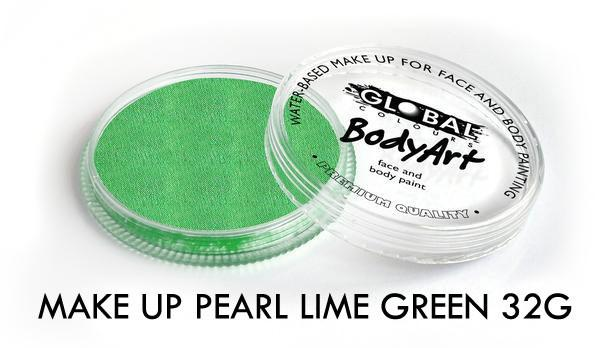 Global Colours Pearl Lime Green
