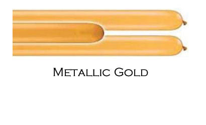 Qualatex 260Q Metallic Gold 100