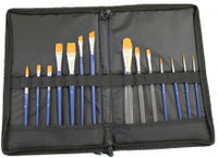Brush set with Brush Wallet