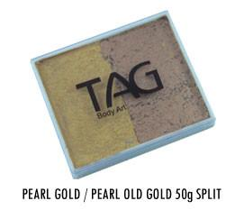 Pearl Gold & Pearl Old Gold Split Cake 50g