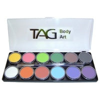 Regular Palette 12 x 10g Face and Body Paint