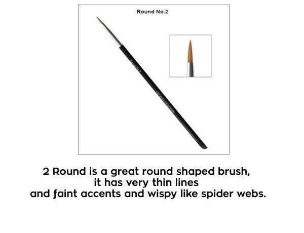 Acrylic Brush no. 2 Round