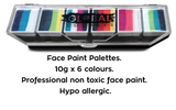 Rainbow Splash Pallete of One Strokes - 10g Each x 6