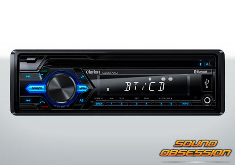 Clarion CZ307AU CD/USB/AUX-IN/SD/MP3/WMA RECEIVER WITH BUILT-IN BLUETOOTH