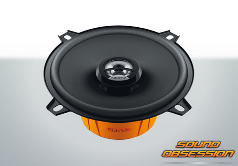 "Hertz DCX130.3 Dieci 5.25"" Coaxial Speakers"