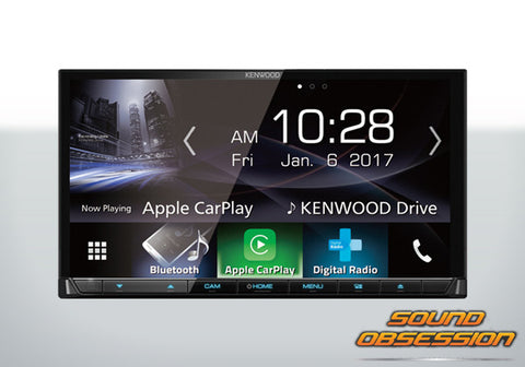 "Kenwood DDX9017DABS 7"" Capacitive Touch AV Receiver with Built-in Wi-Fi"