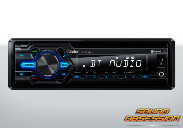 Clarion FZ307AU USB/AUX-IN/SD/MP3/WMA RECEIVER WITH BUILT-IN BLUETOOTH