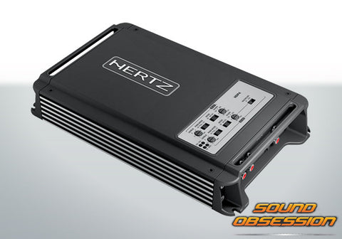 Hertz HDP4 D-Class 4 Channel Amplifier