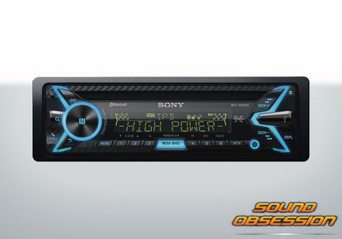 Sony MEXXB100BT 100 Watt RMS Hi-Power Car Stereo Receiver with Bluetooth and Digital Amp