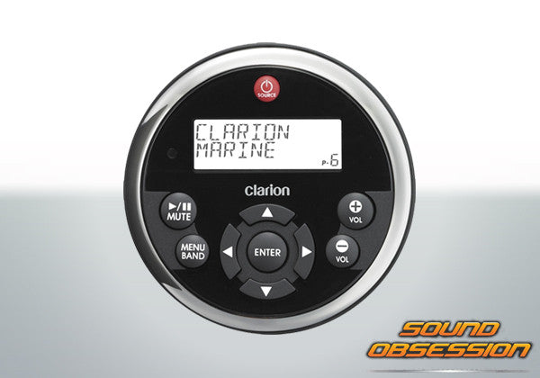 Clarion MW1 Watertight Marine Remote Control with LCD for CMV1, CMD6 & M309