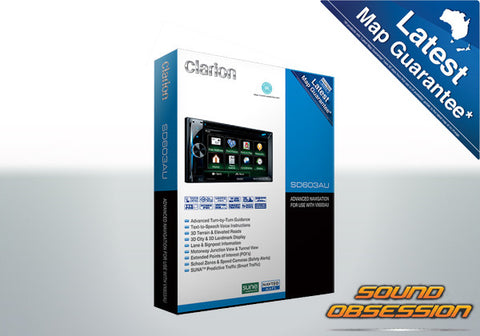 Clarion SD603AU Advanced navigation For Use With VX603AU