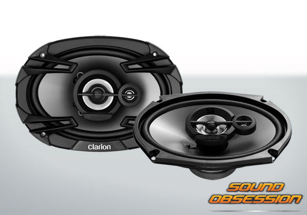 "Clarion SE6934R 6x9"" 400W 3-WAY MULTI-AXIAL SPEAKER"