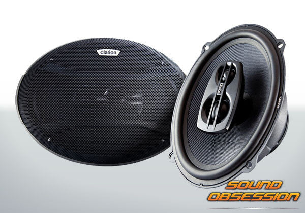 "Clarion SRD6900R 6""x9"" 3-Way Coaxial Speaker"