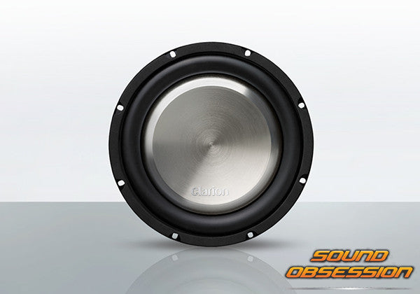 "Clarion WF2520 1000W 10"" 4-Ohm Shallow-Mount Subwoofer"