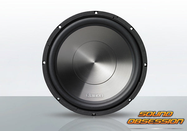 "Clarion WG3020 1000W 12"" 4-Ohm Subwoofer"
