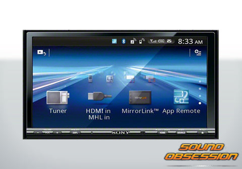 Sony XAV712BTNAV DVD with Bluetooth and HDMI and MHL with GPS Module