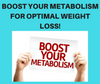 Boosting Your Metabolism for Optimum Weight Loss