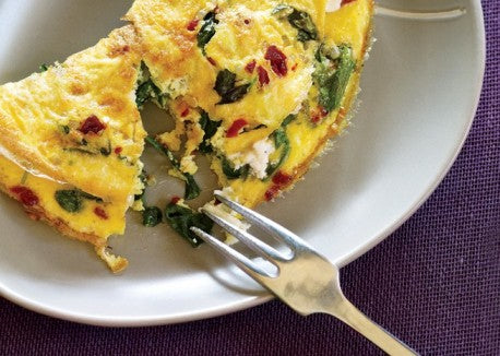 Natural Pre-Workout - Veggie Omelet
