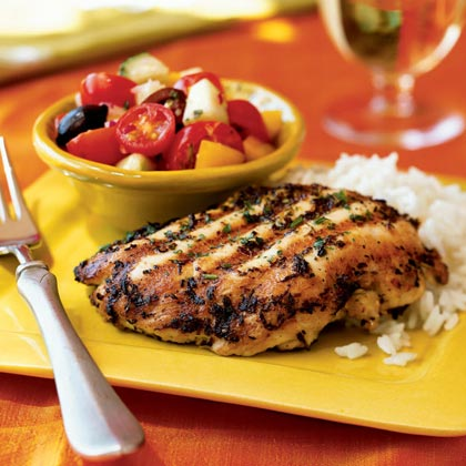 Natural Pre-Workout - Grilled Chicken