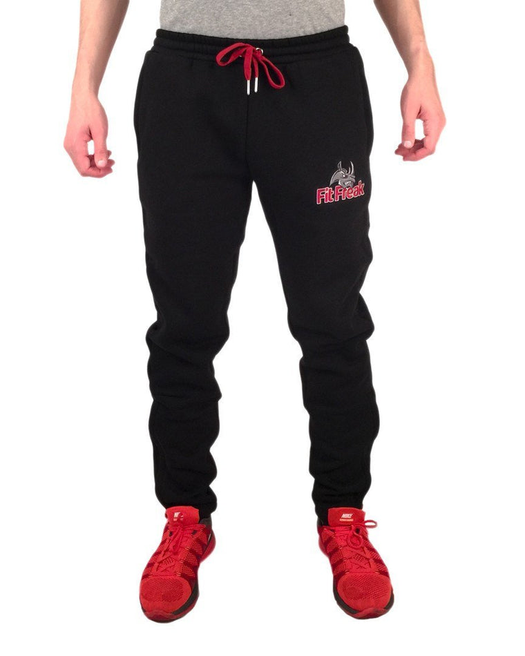 Fit Freak Signature Sweatpants - Black - Fit Freak Gym Wear Fitness Apparel
