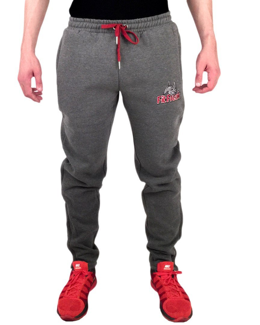 Fit Freak Signature Workout Jogger - Grey - Fit Freak Gym Wear Fitness Apparel