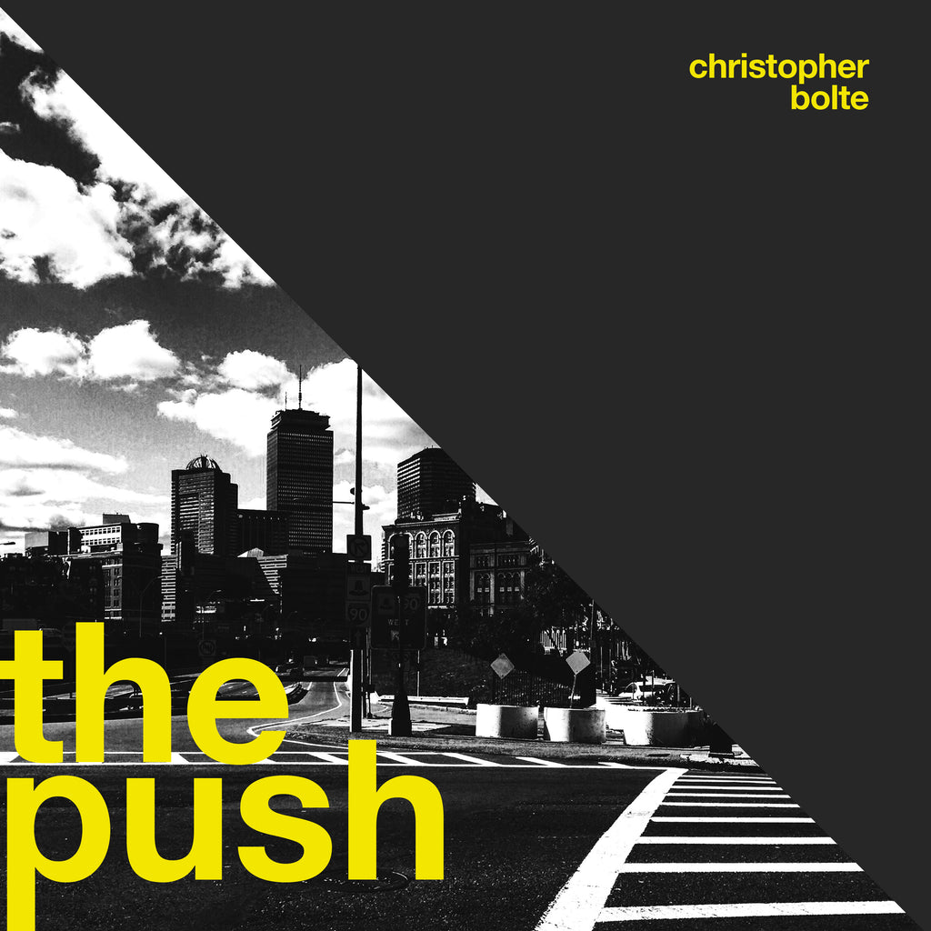 "Gruv Gear Artist Christopher Bolte From Germany Releasing New Album ""Push"""