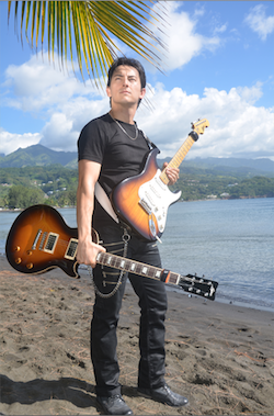Gruv Gear Welcomes Guitarist Florent Atem from Tahiti As Artist Endorser