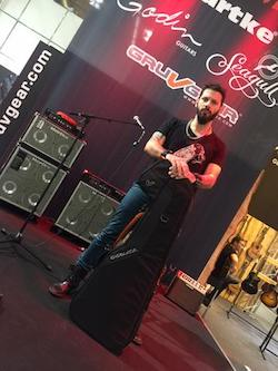 Gruv Gear Welcomes Guitarist Yiannis Papadopoulos from Greece As Artist Endorser