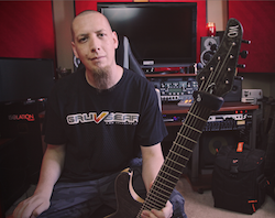 Gruv Gear Welcomes Songwriter and Guitarist Keith Merrow As Artist Endorser