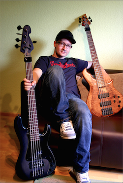 Gruv Gear Welcomes New Artist Endorser, German Bassist Markus Vieweg