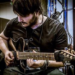 Gruv Gear Welcomes Guitarist Tony Martinez from Spain As Artist Endorser