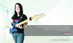 Gruv Gear Features French Guitarist and Artist Endorser Anouck Andre